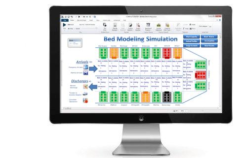 Simulation Modeling For Hospital Bed Planning